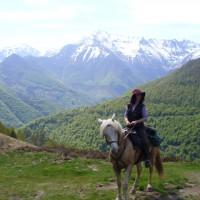 Isa et ses montagnes