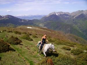 Équitation de Pleine Nature au Bazet