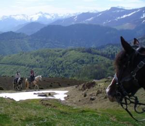 Les Randonnées  à Cavalcagire